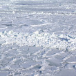 Stock Photo: Ice covered sea