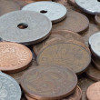 Stock Photo: Various Danish coins
