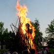 Stock Photo: Midsummer fire