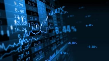 Stock Market 071 — Stock Video