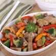 Beef Stir Fried — Stock Photo #28548759