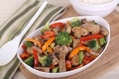 Beef Stir Fried — Stock Photo