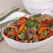 Stock Photo: Beef Stir Fry