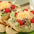 Two Taco Salads — Foto de stock #28893319