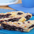 Blueberry Turnovers — Stock Photo