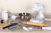 Baking Tools and Appliances — Stock Photo