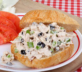 Tuna Salad Sandwich — Stock Photo