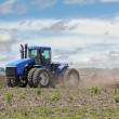 Plowing a Field — Stock Photo