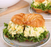Egg Salad Sandwich — Stock Photo