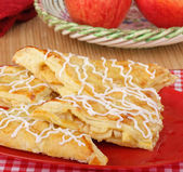 Apple Turnover Pastries — Stock Photo