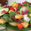 Nutritious Spinach Salad — Stock Photo