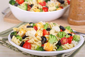 Pasta Salad Meal — Stock Photo