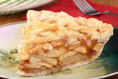 Apple Pie Slice — Stock Photo