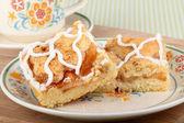 Plate of Apple Cake — Stock Photo