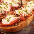 French Bread Pizza — Stock Photo #30959515