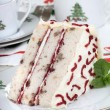 Foto Stock: Christmas Layer Cake