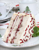 Christmas Layer Cake — Stock Photo