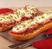 Pizza Bread — Stock Photo