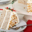 Foto Stock: Slice of Layer Cake
