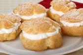 Cream Puff Pastry — Stock Photo