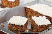 Carrot Cake — Stock Photo