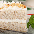 Foto Stock: Layer Cake Slice