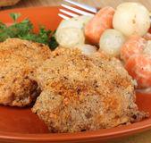 Kurczak panierowany — Zdjęcie stockowe