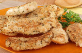 Chicken Breast Tenderloins — Stock Photo