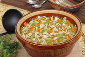 Pot of Soup — Stock Photo