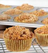 Coffee Cake Muffin — Stock Photo