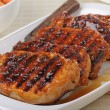Stock Photo: Grilled Pork Loin