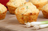 Onion Cheese Biscuits — Stock Photo