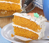 Carrot Layer Cake — Stock Photo