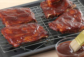 Barbecue Spareribs — Stock Photo
