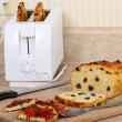 Toasted Raisin Bread — Stock Photo
