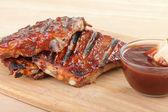 Barbecue Spareribs — Stock Photo