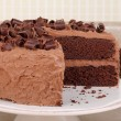 Chocolate Cake — Stock Photo #33639723