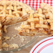 Apple Pie Serving — Stock Photo