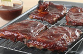 Barbecue Ribs — Stock Photo