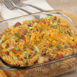 Macaroni and Cheese Casserole — Stock Photo