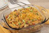 Macaroni and Cheese Casserole — Stock Photo