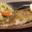 Fried Catfish Fillet — Stock Photo