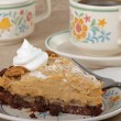 Piece of Peanut Butter Pie — Stock Photo