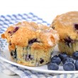 Blueberry Muffins — Stock Photo