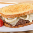 Stock Photo: Patty Melt Sandwich