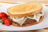 Patty Melt Sandwich — Stock Photo