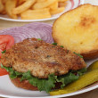 Pork Tenderloin Sandwich — Stock Photo