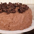 Foto Stock: Chocolate Layer Cake
