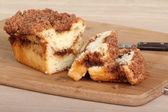 Crumb Cake Bread — Stock Photo