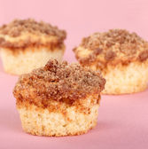 Crumb Cake Muffins — Stock Photo